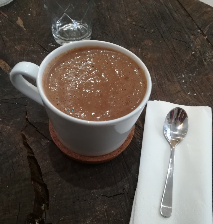chocolat chaud automne