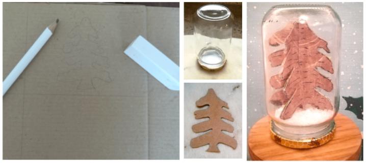 Tuto : décoration de sapinenneigé