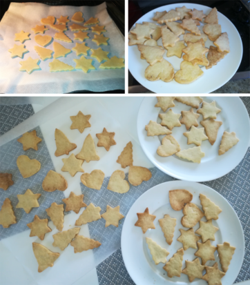 biscuits cuits refroidissement