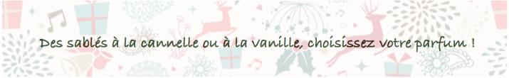 sablés vanille cannelle
