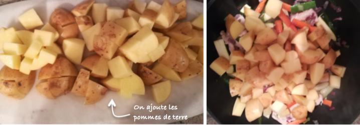 tajines pommes de terre