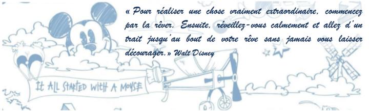 Walt Disney rêver sa vie