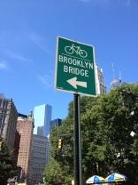 Brooklyn bridge panneau