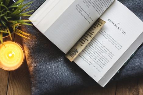 Etre immergé dans un livre