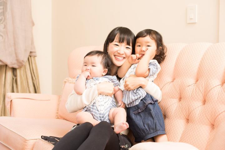 Marie Kondo et ses enfants