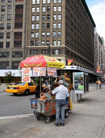 New york Vendeur hot dog