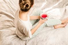 Prendre son thé au lit le matin