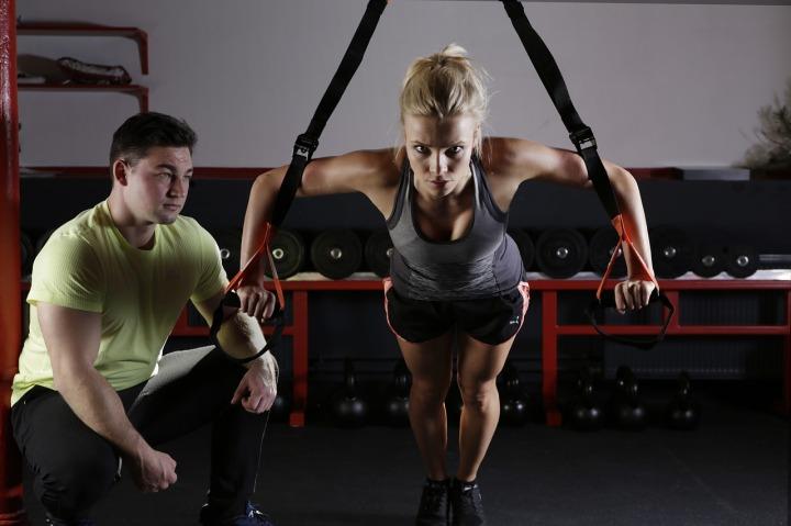 push up sangle fitness