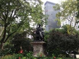 Statue Madison Square