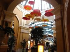 Bellagio Hotel Las Vegas parapluies