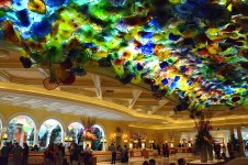 Bellagio Hotel Las Vegas plafond