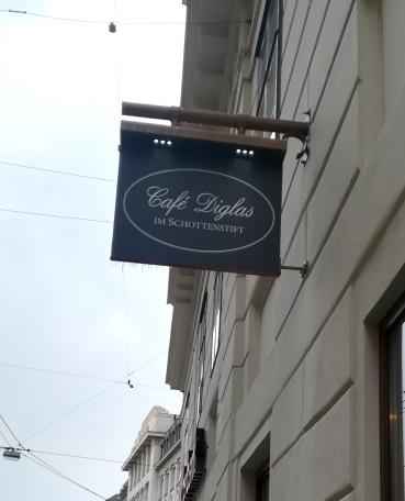 Le Café Diglas à Vienne