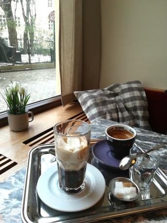 Café viennois ou Wiener Kaffeehäuser