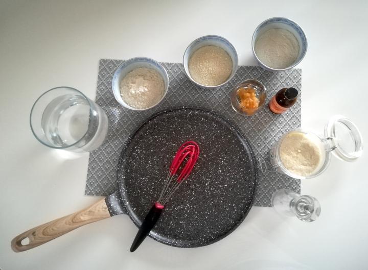 chandeleur crêpes ingredients
