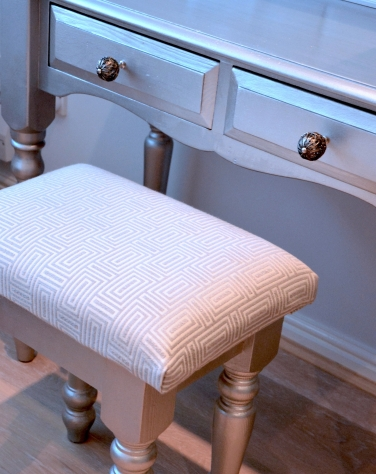 Coiffeuse tabouret