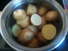La cuisson des pommes de terre