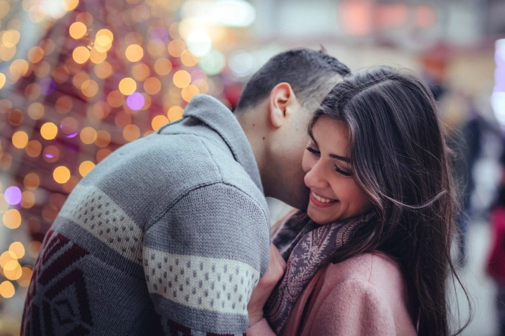 Dîner romantique en ville