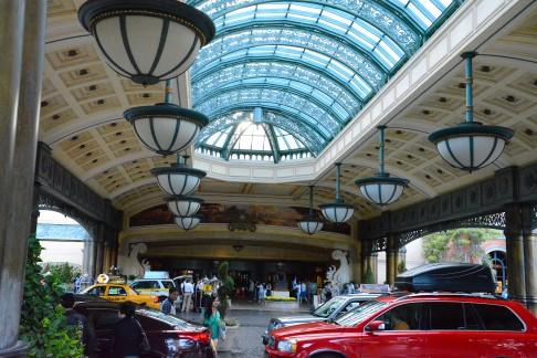 Hotel Bellagio porch
