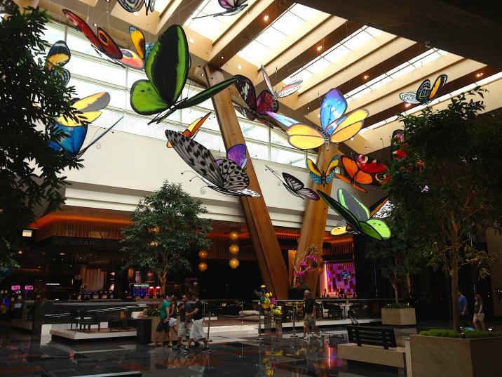 Las Vegas Aria Papillons