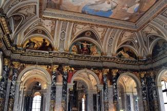 musée des Beaux-Arts et d'histoire naturelle plafond