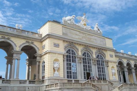 Schonbrunn porte Vienne