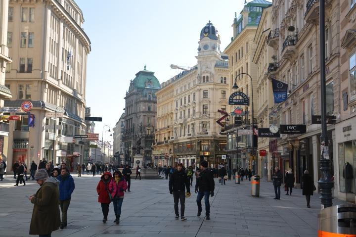 Stephansplatz Vienne ville