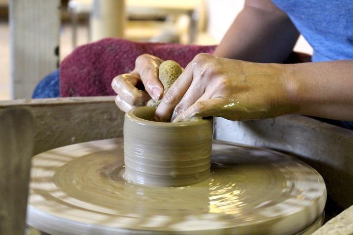Art thérapie poterie