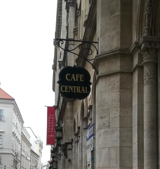 Le Café Central de Vienne