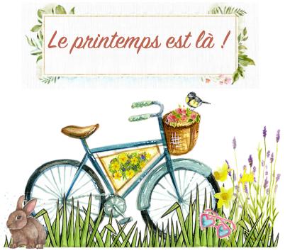 Le printemps est la