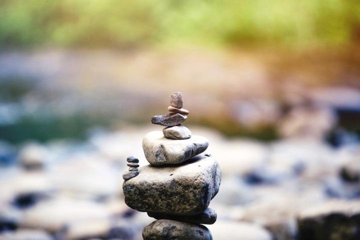 pierre meditation equilibre