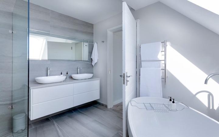 salle de bain nettoyage