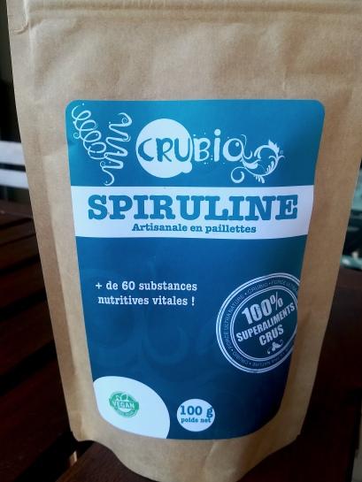 Paillettes de spiruline bio - Force Ultra Nature