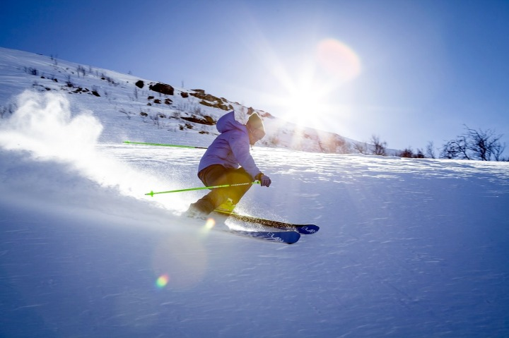 Vacances de Pâques skier au printemps