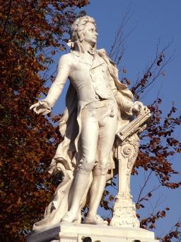 Vienne Statue de Mozart