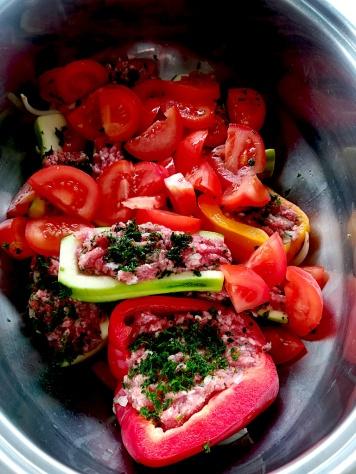 L'ajout de tomates
