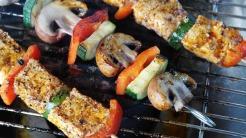 brochettes legumes poulet