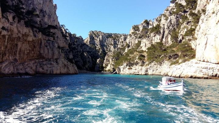 Calanque balade bateau