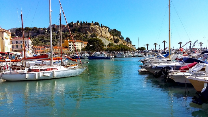 Cassis voiliers