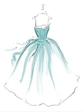 croquis robe de mariée