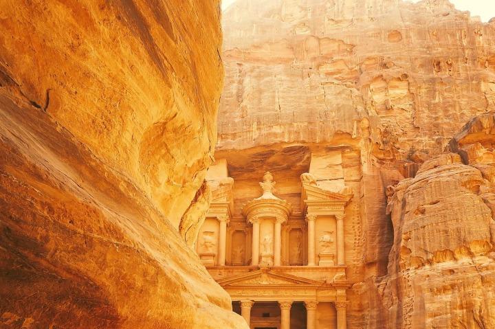 Jordanie site archeologique