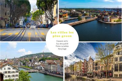 Les villes les plus green