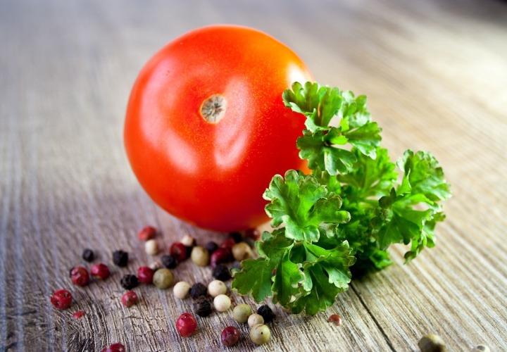 tomate persil