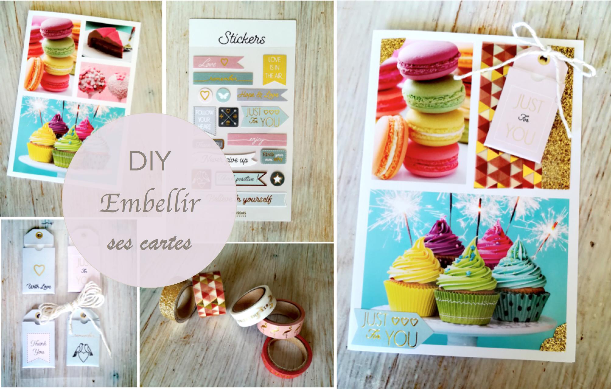 DIY : embellir ses cartes d'anniversaire