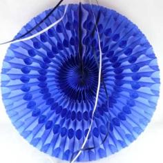 Eventail bleu - Decodelafete.com