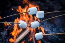 Marsmallows au barbecue