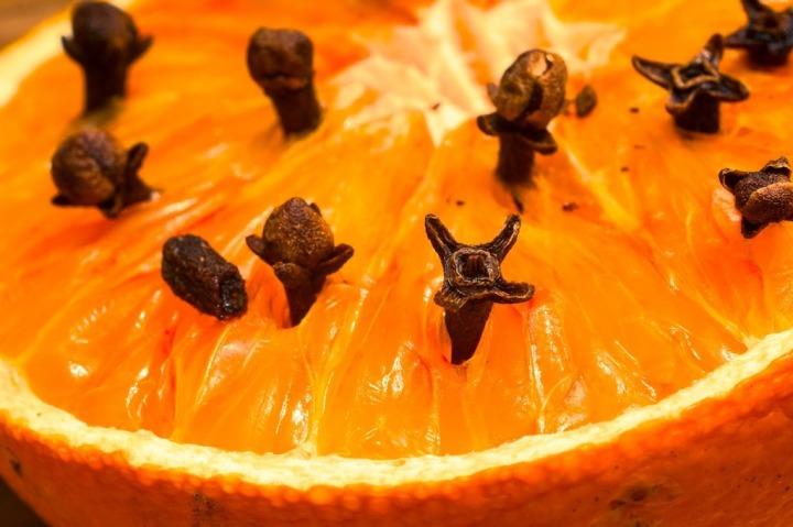 orange et clou de girofle