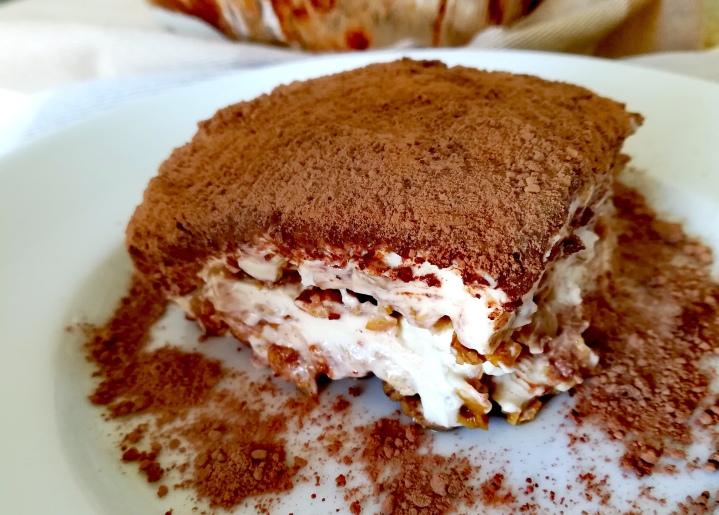 Recette de Tiramisu sans gluten et sansoeuf