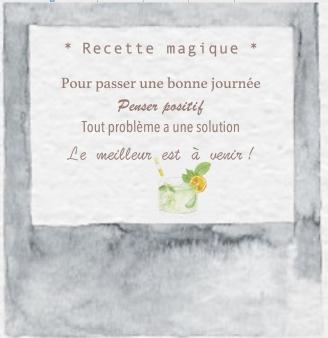 Recette magique