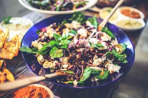 Salade épinards - healthy