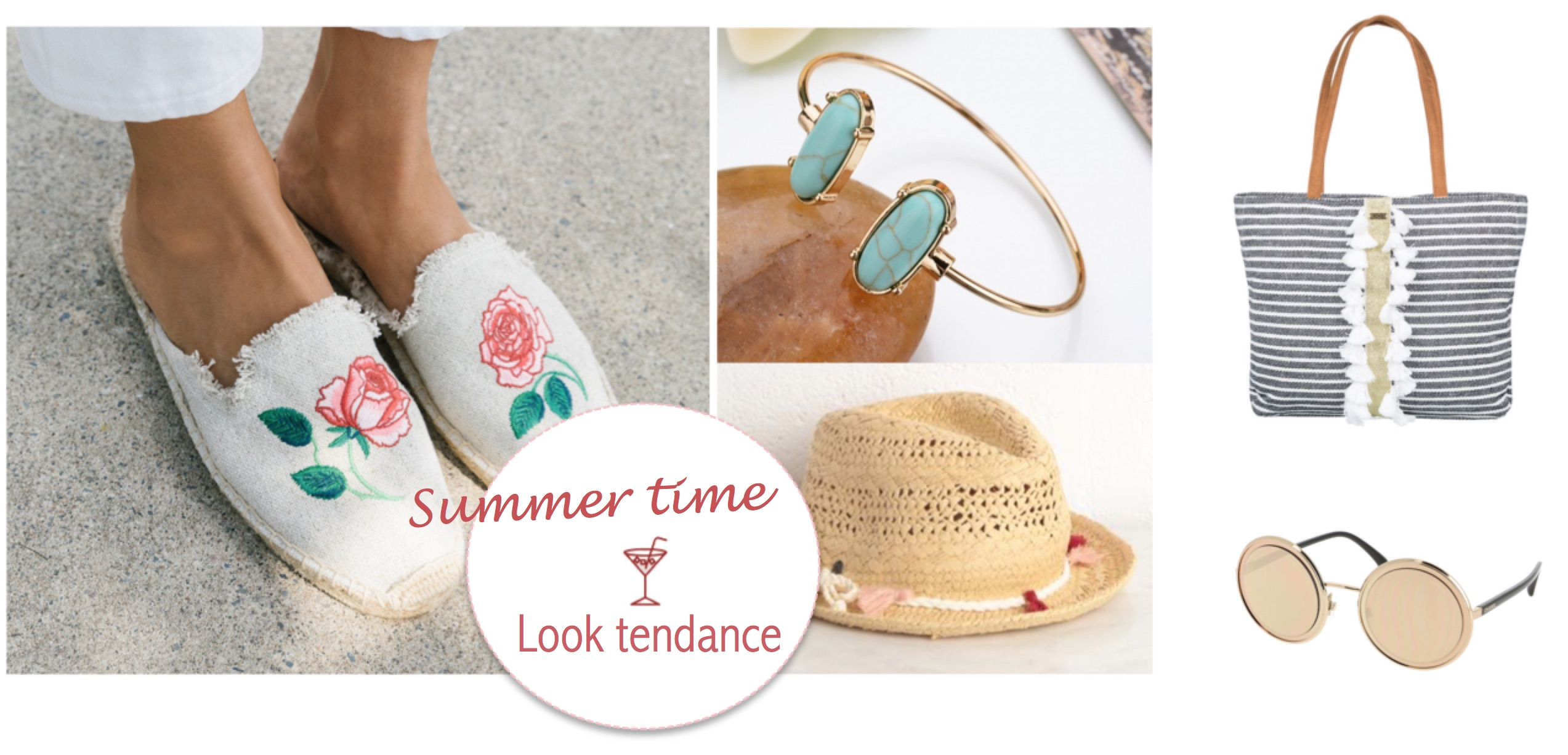 5 accessoires tendance pour l'été